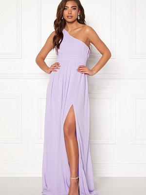 Make Way Ellamae one shoulder gown Lavender