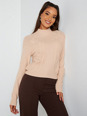 Bubbleroom Aisha knitted sweater Cream