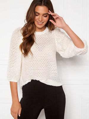 Happy Holly Chelsia furry top Offwhite