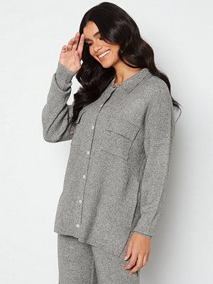 Only Kamma L/S Shirtigan Medium Grey Melange