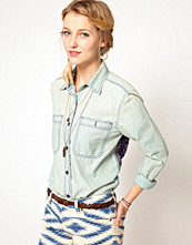 Denim & Supply Ralph Lauren Denim & Supply By Ralph Lauren Soft Denim Shirt With Bandana Print