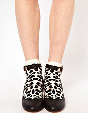 Happy Socks Leopard Print Low Socks