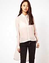 Cheap Monday Shirt With Hi Lo Hem