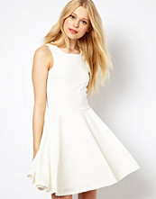 River Island Textured Skater Dress