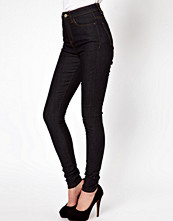 ASOS Uber High Waisted Ultra Skinny Jeans in Clean Indigo