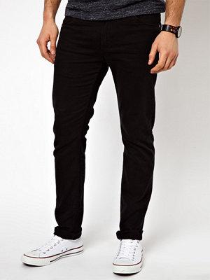 Farah Drake Slim Fit Jeans in Black Twill