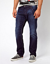 Jeans - Diesel Jeans Krooley Tapered 817F Dark Wash
