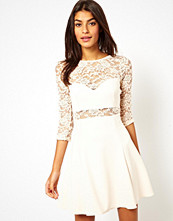 ASOS Lace Panel Skater Dress