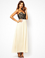 Klänningar - Little Mistress Embellished Bandeau Maxi Dress
