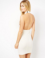 Klänningar - Aq Aq Belinda Dress With High Neck And Open Back