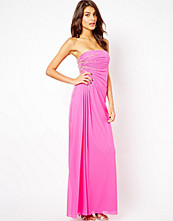 Klänningar - Forever Unique Bandeau Maxi Dress