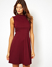 Paper Dolls Polo Neck Skater Dress