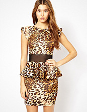 Klänningar - Renee London Irena Leopard Dress