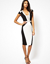 Klänningar - ASOS Structured Pencil Dress In Colour Block