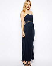 Klänningar - ASOS Ruched Bandeau Maxi Dress