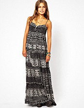 Klänningar - Denim & Supply by Ralph Lauren Rouched Maxi Dress In Aztec Print