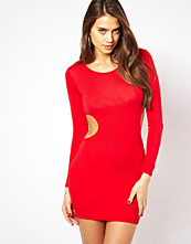 Klänningar - Club L Bodycon Dress with Cut-Out Waist
