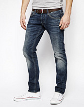 Jeans - G-Star Jeans Defend Super Slim Comfort Dark Wash
