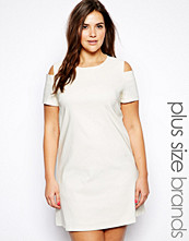 Paper Dolls Plus Cold Shoulder Shift Dress