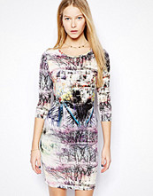 Klänningar - Edit Printed Bodycon Dress