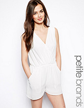 True Decadence Petite Wrap Front Playsuit