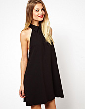Klänningar - ASOS Swing Dress with Collar and Drop Armhole