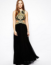 Klänningar - Forever Unique Laila Maxi Dress with Cut Out Waist and Embellishment