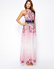 Klänningar - Little Mistress Maxi Dress in Ombre Floral Print