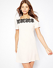 Paper Dolls Shift Dress With Lace Detail