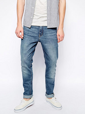 Jeans - Weekday Jeans Friday Skinny Fit Blue Warning