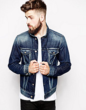 Jackor - Replay Denim Jacket Mid Wash Trucker
