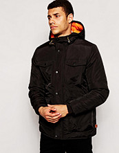 Jackor - Bellfield Utility Jacket With Fleece Lining