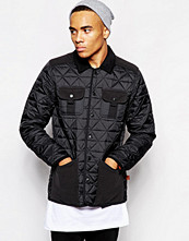 Jackor - Bellfield Quited Jacket With Fleece Pockets