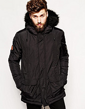 Jackor - Bellfield Arctic Parka With Faux Fur Hood