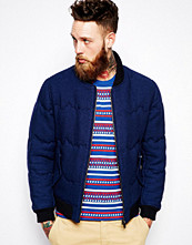 Jackor - Levi's Made & Crafted Levis Made & Crafted Bomber Jacket Slim Fit Quilted Denim Indigo