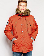 Jackor - Alpha Industries Polar Jacket in Red