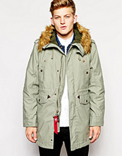 Jackor - Alpha Industries Hooded Fishtail Parka