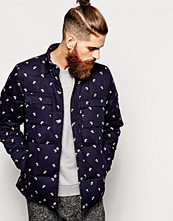 Jackor - Penfield Loring Down Overshirt with Hound Print