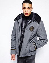 Jackor - Love Moschino Quilted Jacket Double Layered