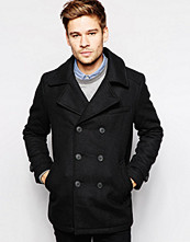 Jackor - Selected Wool Pea Coat