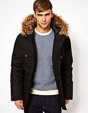 Jackor - Selected Parka With Faux Fur Hood