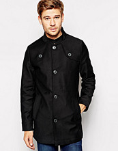 Jackor - Selected Funnel Neck Trench Coat