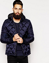 Jackor - G-Star Hooded Jacket Fibrick Padded Nylon