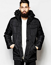 Jackor - G-Star Hooded Parka Jackets Swat Heavy Lined
