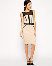 Paper Dolls Paperdolls Pencil Dress with Panelling Detail