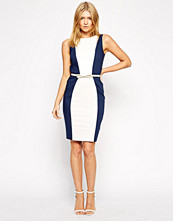 Paper Dolls Paperdolls Pencil Dress with Shoulder Cut Out