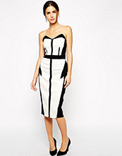 Paper Dolls Paperdolls Bandeau Pencil Dress with Contrast Panelling