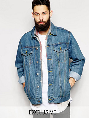 Jackor - Reclaimed Vintage Oversized Denim Jacket