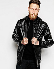 Jackor - Rains Breaker Waterproof Jacket With Embossed Print