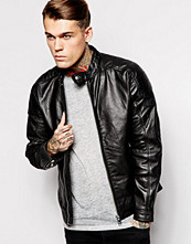 Jackor - Diesel Leather Jacket L-Monike Biker